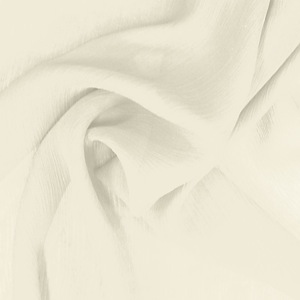 SILK CHIFFON CRINKLES - ANTIQUE WHITE [CCP503]