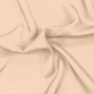 SILK DOUBLE GEORGETTE SOLIDS - NUDE [DGP507]