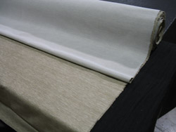 high performance silk fabrics knit paper backing stain