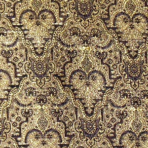 Brocade embroidered
