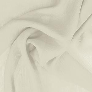 SILK CHIFFON CRINKLES - BONE WHITE [CCP525]