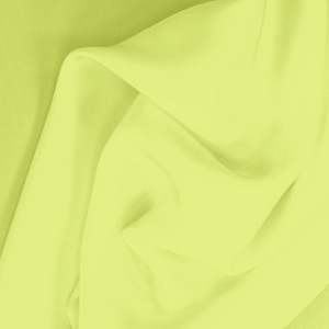 SILK CREPE DE CHINE SOLIDS - SUNNY LIME [CDCP538]