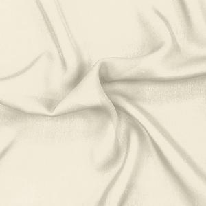SILK DOUBLE GEORGETTE SOLIDS - ANTIQUE WHITE [DGP503]