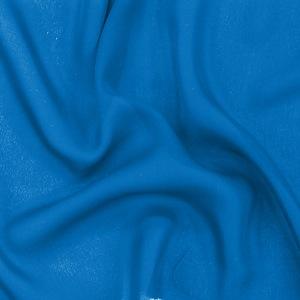 SILK DOUBLE GEORGETTE SOLIDS - DIRECTOIRE BLUE [DGP547]