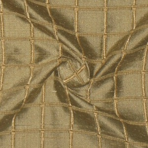 SILK DUPIONI WINDOW PANE - BLUE BRONZE  [DMST138]