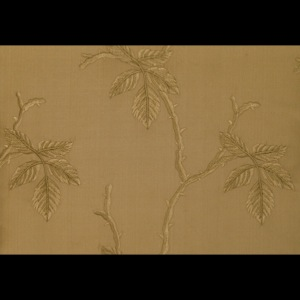 SILK DUPIONI EMBROIDERED-HEAVY - MOCHA [EMBH159]