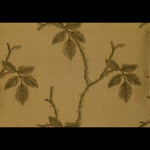 SILK DUPIONI EMBROIDERED-HEAVY - BASIL [EMBH162]