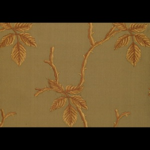 SILK DUPIONI EMBROIDERED-HEAVY - PINE [EMBH163]