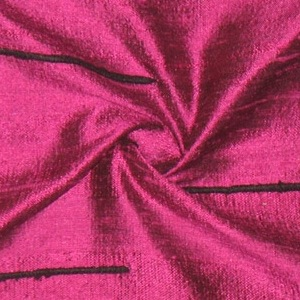 SILK DUPIONI EMBROIDERED-LIGHT - MYSTIC PURPLE [EMBL171]