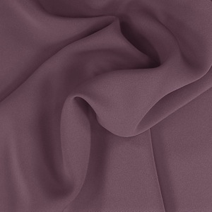 SILK FOUR PLY CREPE SOLIDS - EGGPLANT [FCP560]