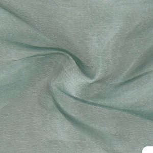 SILK ORGANZA SOLIDS - SEA GREEN [OR434]