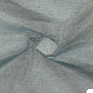 SILK ORGANZA SOLIDS - BLUE GREY [OR438]