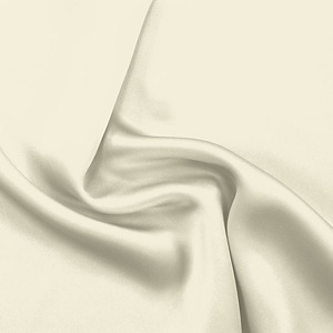 SILK CHARMEUSE SOLIDS - WINTER WHITE [SCP531]