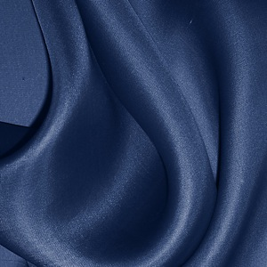 SILK SATIN FACE ORGANZA SOLIDS - ESTATE BLUE [SOP551]