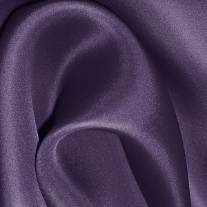 SILK SATIN FACE ORGANZA SOLIDS - GOTHIC GRAPE [SOP557]