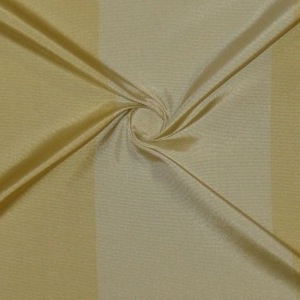 SILK TAFFETA STRIPES - BUFFALO STRP GOLD/ FROST GOLD [TFS409]