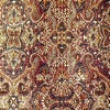 SILK BROCADE PATTERNED - BARKGOLD  [BR708]