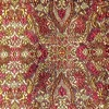 SILK BROCADE PATTERNED - BORDEUX [BR709]