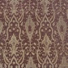 SILK BROCADE PATTERNED - SUNFLOWER BERRY GOLD [BR711]