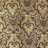 SILK BROCADE PATTERNED - GREY GLD. [BR714]