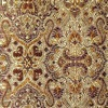 SILK BROCADE PATTERNED - SAGE MAR/GLD [BR715]