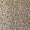 SILK BROCADE PATTERNED - SOFT CREAM  [BR718]