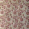 SILK BROCADE PATTERNED - GOLDEN BERRY  [BR719]