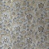 SILK BROCADE PATTERNED - SILVER BLUE [BR720]