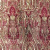 SILK BROCADE PATTERNED - ROSE WINE [BR728]