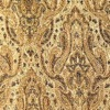 SILK BROCADE PATTERNED - GOLD SPICE  [BR729]