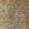 SILK BROCADE PATTERNED - SHIMMER GOLD  [BR731]