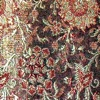SILK BROCADE PATTERNED - BK CURRY  [BR734]
