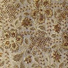 SILK BROCADE PATTERNED - GOLDEN WHEAT  [BR735]