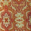 SILK BROCADE PATTERNED - RISING GOLD [BR737]
