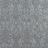 SILK BROCADE PATTERNED - BLUE CRYSTAL [BR751]