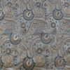 SILK BROCADE PATTERNED - POWDER BLUE [BR752]