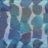 """SILK CHIFFON PETALS - """"TIE DYE"""" PEACOCK [CF513]"""
