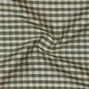SILK DUPIONI PLAIDS - GINGHAM CHK PINE/WHITE [DMP526]