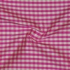 SILK DUPIONI PLAIDS - GINGHAM CHK HOT PINK/W [DMP537]