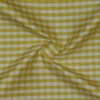 SILK DUPIONI PLAIDS - GINGHAM CHK YELLOW/WHT [DMP538]