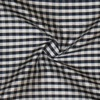 SILK DUPIONI PLAIDS - GINGHAM CHK NAVY/WHITE [DMP546]