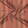 SILK DUPIONI STRIPES - MAUVE MOCHA [DMST125]