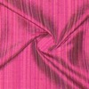 SILK DUPIONI STRIPES - WATERFALL FUCHSIA  [DMST210]