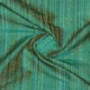 SILK DUPIONI STRIPES - WATERFALL EMERALD  [DMST226]