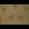 SILK DUPIONI EMBROIDERED-HEAVY - PINE [EMBH184]