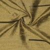 SILK DUPIONI EMBROIDERED-LIGHT - GOLD BRONZE  [EMBL175]