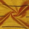 SILK DUPIONI EMBROIDERED-LIGHT - ROYAL GOLD  [EMBL181]
