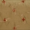 SILK DUPIONI EMBROIDERED-MED - WALNUT BR. [EMBM888]