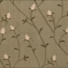 SILK DUPIONI EMBROIDERED-MED - FOREST BR [EMBM919]