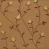 SILK DUPIONI EMBROIDERED-MED - BERRY BRNZ [EMBM920]